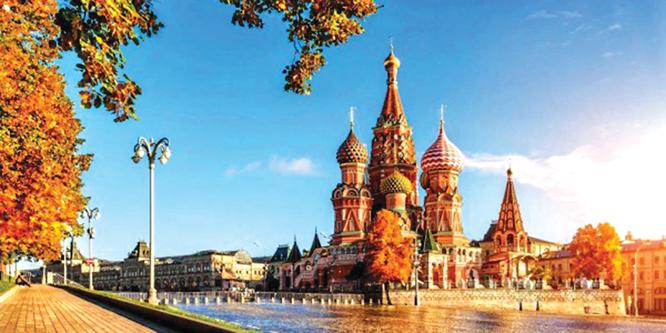 Du lịch NGA: KHÁM PHÁ MOSCOW-SAINT PETERSBURG (8N7D)